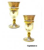 Бокалы для вина: купить бокал-кубок из цветного стекла интернет-магазин