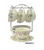 Фарфоровый сервиз: купить чайные фарфоровые сервизы