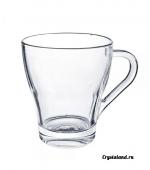 Большие стеклянные чашки