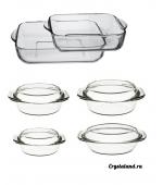 Купить набор стеклянной посуды для кухни