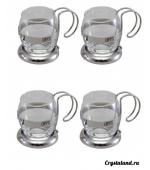 Купить набор стеклянных кружек, чашек из стекла