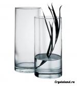 Купить стеклянные вазы для цветов: стеклянная ваза цилиндр