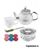 Купить стеклянный набор для чайной церемонии