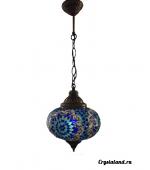 Купить восточные люстры из цветного стекла