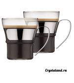 Набор стеклянных чашек: купить стеклянные прозрачные чашки