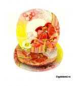 Набор тарелок из цветного стекла: купить наборы стеклянных тарелок  (стекло)