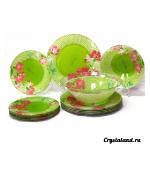 Современная столовая посуда (стекло): купить набор столовой посуды из стекла