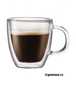 Стеклянная чашка: купить стеклянные чашки для кофе с двойными стенками