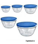 Стеклянные салатники с крышкой: купить стеклянный салатник (стекло)