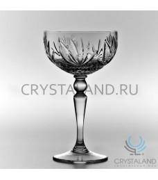 Хрустальные бокалы для шампанского и игристых вин, 6 шт, 225 гр.