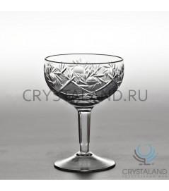 Хрустальные бокалы для шампанского и игристых вин, 6 шт, 250 гр.