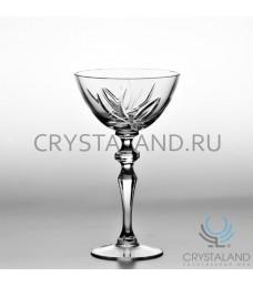 """Хрустальные бокалы для шампанского и игристых вин """"Лотос"""", 6 шт, 300 гр."""