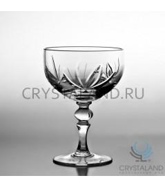 """Хрустальные бокалы для шампанского и игристых вин """"Лотос"""", 6 шт, 200 гр."""