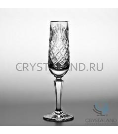 """Xрустальные бокалы для шампанского """"Шар"""", набор из 6 шт, 160 гр."""