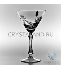 Набор хрустальных бокалов для мартини, 6 шт, 200 гр.