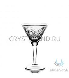 Набор хрустальных бокалов для мартини, 6 шт, 140 гр.