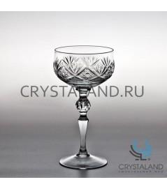 Набор хрустальных бокалов для шампанского, 6 шт, 300 гр.