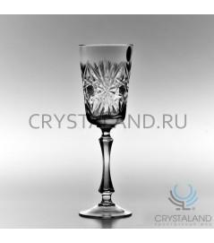 Набор хрустальных бокалов для шампанского, 6 шт, 180 гр.