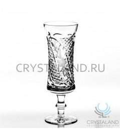 """Набор хрустальных бокалов для шампанского """"Грация"""", 6 шт, 150гр."""