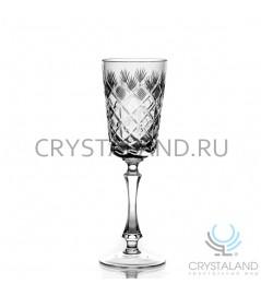 Набор хрустальных бокалов для вин и шампанского, 6 шт, 180 гр.