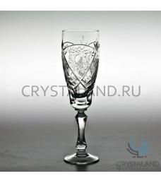 Набор хрустальных бокалов для вин и шампанского, 6 шт, 170 гр.