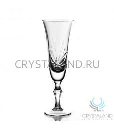 """Набор хрустальных бокалов для вин и шампанского """"Лотос"""", 6 шт, 180 гр."""