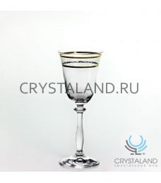 "Фужеры для вина ""Ангела"", 6 шт, 185 гр"