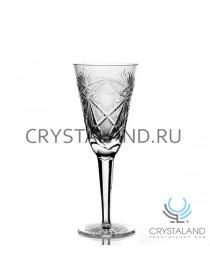 Набор хрустальных фужеров для вин и шампанского, 6 шт, 200 гр