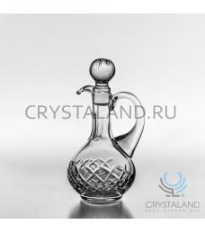 Хрустальный графин для напитков , бесцветный хрусталь, 0.15 л.