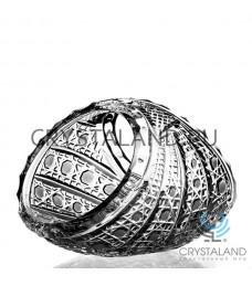 "Хрустальная ваза для конфет малая ""Диагональ"", 13 см"