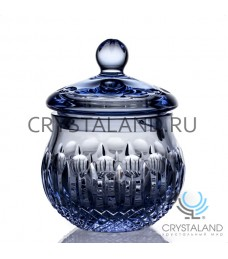 Хрустальная ваза для конфет с крышкой, 16 см