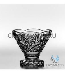 Хрустальная ваза для крема, 12 см