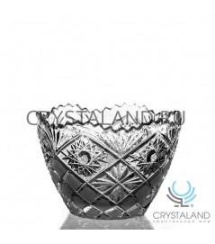 Хрустальная ваза для стола из бесцветного хрусталя, 15.5 см