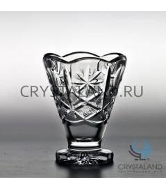 Хрустальная вазочка для мороженного из бесцветного хрусталя, 12.5 см