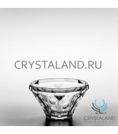 """Хрустальная вазочка для сервировки стола """"Граненая"""", 18.5 см"""