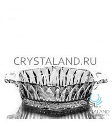 Хрустальное блюдо под заливное, 18 см
