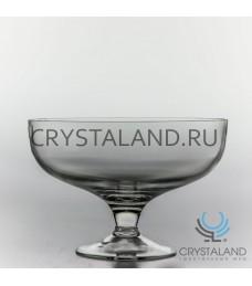 Стеклянная ваза для фруктов из бесцветного стекла, 21 см