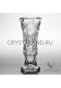 Хрустальная ваза для цветов, бесцветный хрусталь 30 см.-2018-12-25