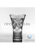 Хрустальная ваза для цветов, бесцветный хрусталь 25.5 см.-2021-01-27