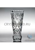 Хрустальная ваза для цветов, бесцветный хрусталь 30 см.-2020-05-28