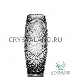 """Хрустальная ваза для цветов """"Этюд"""", бесцветный хрусталь 27 см."""