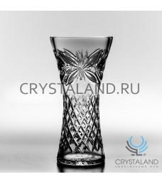 "Хрустальная ваза для цветов ""Ирис"", бесцветный хрусталь 25 см."