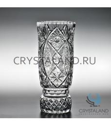 "Хрустальная ваза для цветов ""Иван"" (большая), бесцветный хрусталь 30 см."