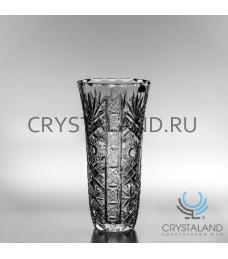 "Хрустальная ваза для цветов ""Цветник"" (средняя),  26.5 см."