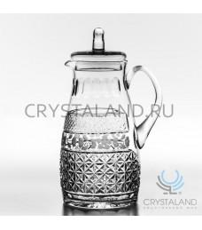 Хрустальный кувшин для напитков (с крышкой) 2 литра