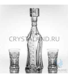 """Хрустальный сервиз """"Московский"""", 0.6 литра"""