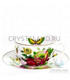Сервиз чайный (тонкостенный фарфор)