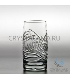 Набор хрустальных стаканов, 6 шт, 365 гр.
