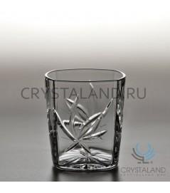 """Набор хрустальных стаканов """"Лотос"""" , 6 шт, 250 гр."""