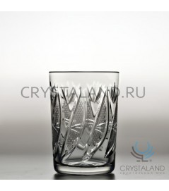 Набор хрустальных стаканов для чая, 6 шт, 200 гр.
